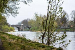 River Tweed in Peebles