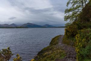The bonny Banks of Loch Lomond