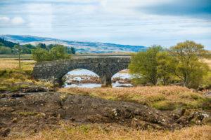 Brücke auf Mull